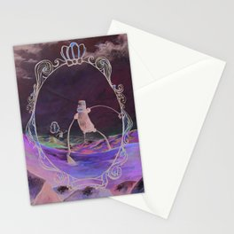 Double Check for Robots before Crossing the Road Stationery Cards