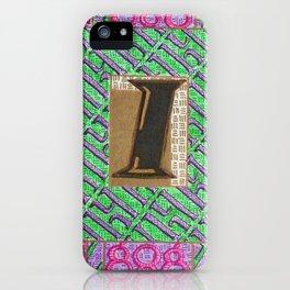 Alpha-Numero: I iPhone Case