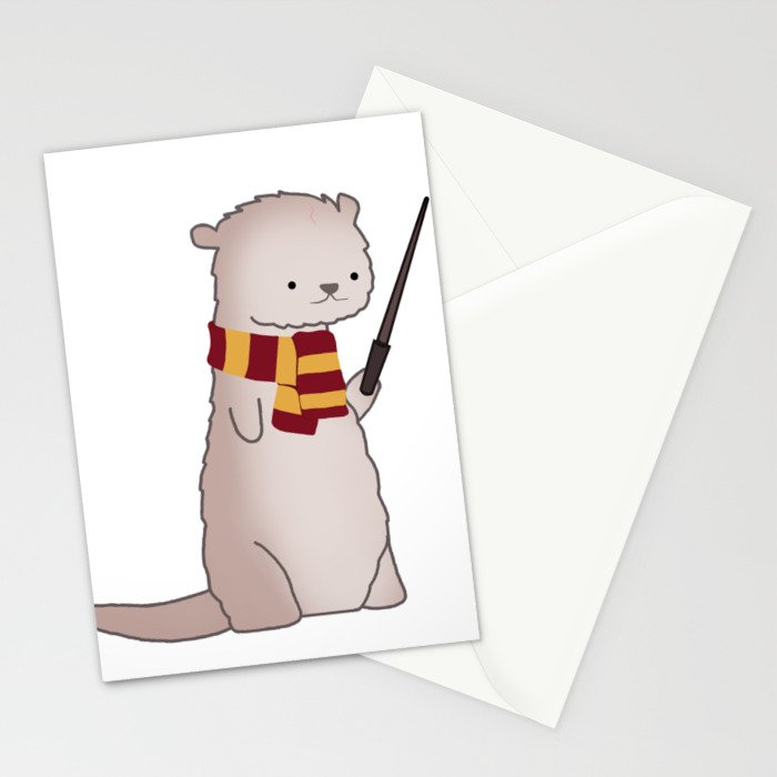 Harry Pawter Stationery Cards