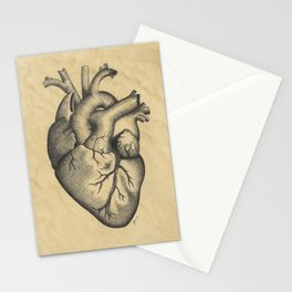 Ink Heart Stationery Cards