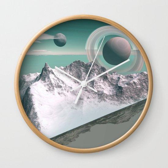 celestial horizon Wall Clock