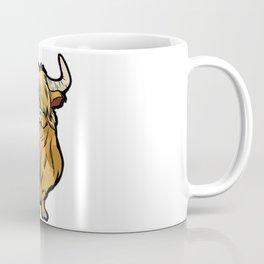 SCOTTISH HIGHLAND COW Scottland beef cattle bison Coffee Mug