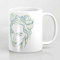 Green Portrait Mug