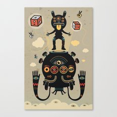 Monstertrap Canvas Print