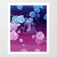 Resting space Art Print
