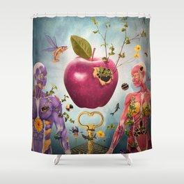 Adam's Apple Shower Curtain