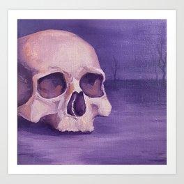Pastel Goth Art Print