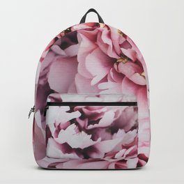 Pink Blush Peonies Backpack