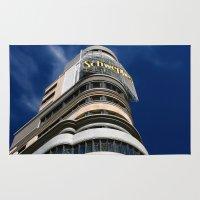madrid Area & Throw Rugs featuring Madrid, Spain by OSCAR GBP