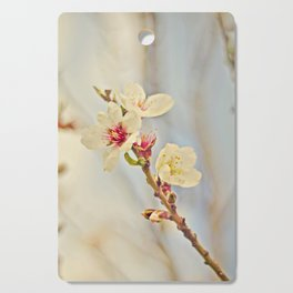 Almond Blossoms in the Wind Cutting Board