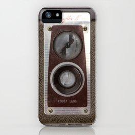 Vintage Duaflex Camera iPhone Case