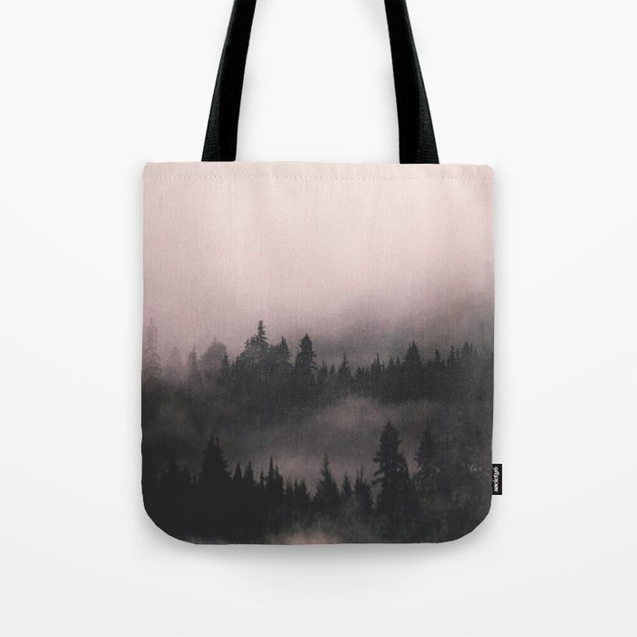 When the fog comes in Tote Bag