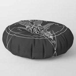 Leviathan Pentagram Floor Pillow