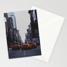 New York Traffic Stationery Cards