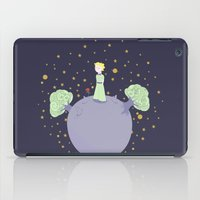 the little prince iPad Cases featuring The little prince by Pendientera