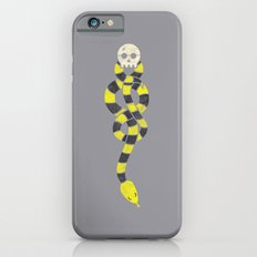 The Scarf Mark - Yellow and Grey iPhone 6s Slim Case