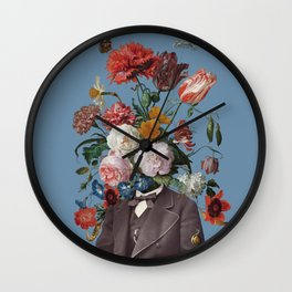 This one goes out to the one I love (4) blue Wall Clock