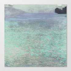 Klimt at Attersee Canvas Print