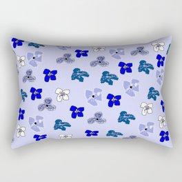 Sweet Forget Me Nots Rectangular Pillow