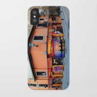 grafitti iPhone & iPod Cases featuring Grafitti on Elvira Street by Simon Ede Photography
