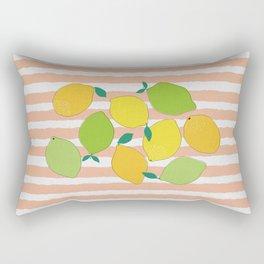 Citrus Crowd Rectangular Pillow