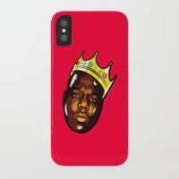 biggie iPhone & iPod Cases featuring Biggie by Sulaiman aldaham