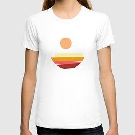 Modern Sunset T-shirt
