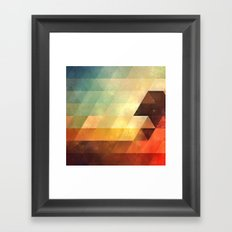 lyyt lyyf Framed Art Print