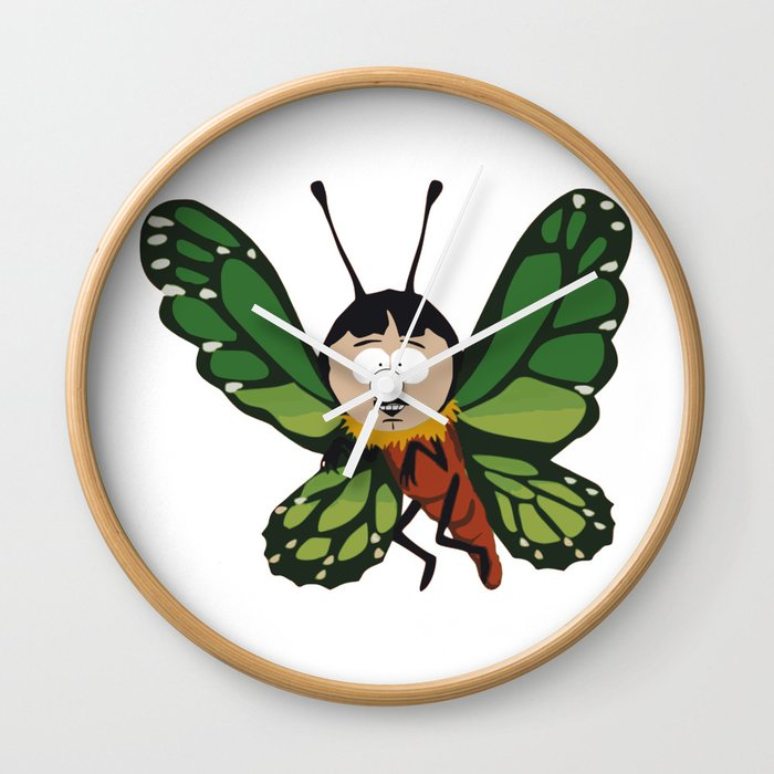 Butterfly Randy Wall Clock