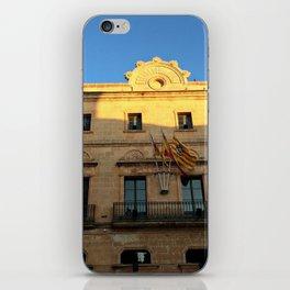 Historical Building on Menorca iPhone Skin
