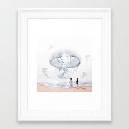 In Suspension Framed Art Print