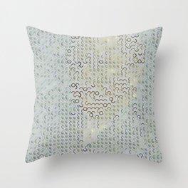 Digital expressionism 016 Throw Pillow