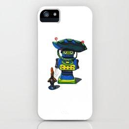 Robot-Bob iPhone Case