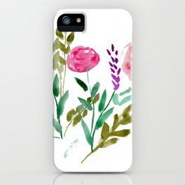 Country Bouquet iPhone Case
