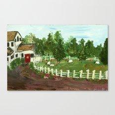 Ash Mill Farm Canvas Print
