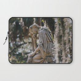 Bonaventure Cemetery - Statue of Eliza Wilhelmina Theus II Laptop Sleeve