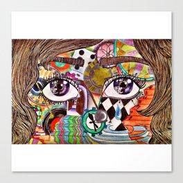 REM Canvas Print