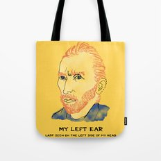 Where did it Gogh? Tote Bag