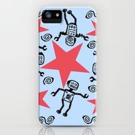 Dancing Robots iPhone Case
