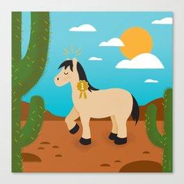 Show Pony Canvas Print