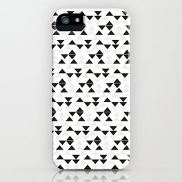 Triangle Rain iPhone Case