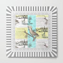 Tropical Dream Cockatoo Metal Print