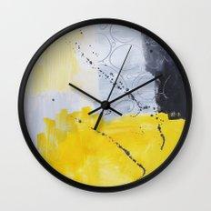 Abstract painting 3 Wall Clock