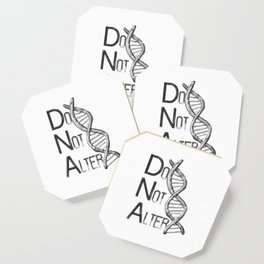 DNA [Do Not Alter] Coaster
