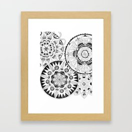 Mandala Series 02 Framed Art Print