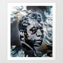 Baldwin Blue Art Print