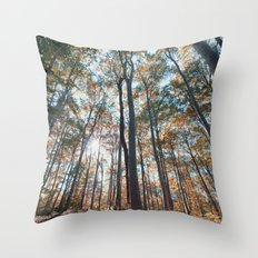 into the woods 06 Throw Pillow