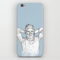 niall horan iPhone & iPod Skins featuring Niall Horan by Cécile Pellerin