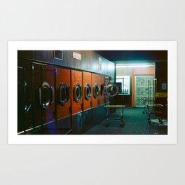 Laundromat Part I Art Print