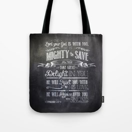 mighty to save Tote Bag